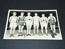 LOS ANGELES 1932 J.O. OLYMPIC GAMES OLYMPIA HALTEROPHILIE SUVIGNY FRANCE WÖLPERT