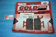 2 plaquettes de frein GOLDFREN AD Kawasaki KX 65 SUZUKI RM 65
