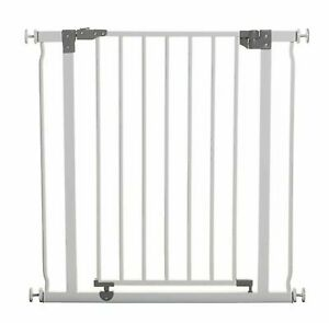 Dreambaby Liberty Metal Pressure Fit Safety Gate White 75-81cm  29.5-32 Inch New