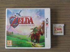 JEU NINTENDO 3DS  THE LEGEND OF ZELDA OCARINA OF TIME 3D  VERSION FR