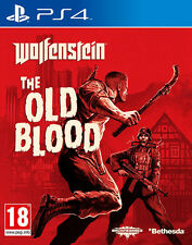 Wolfenstein The Old Blood ~ PS4 (in Good Condition)