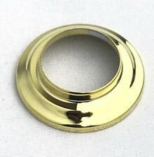 "* Shower Arm Flange Polished Brass 2"" Od 1-3/16"" Id"
