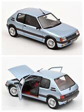 1/18 Norev Peugeot 205 GTI 1.6 1988 Topaze Blue neuf Livraison Domicile