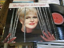 PEGGY LEE- IN LOVE AGAIN VINYL ALBUM