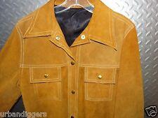 12706 Vintage Joo Kay of Oklahoma Leather Rancher Western Cowboy Jacket Coat M