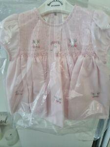 SARAH LOUISE NEWBORN PINK DRESS BNWT