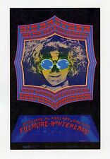 Bill Graham 124 Postcard Big Brother and Holding Co 1968 Jun 13