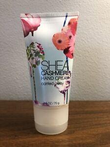 Bath & Body Works Carried Away Shea Cashmere Hand Cream 2.5oz New/Ships Free! 🌸
