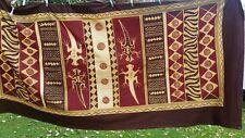 Superb Vintage  Batik Fabric,unused ,throw,wall hanging,table cloth