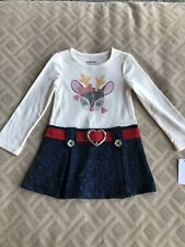 WonderKids Holiday Reindeer Dress Size 2T NWT