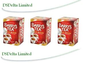 Barry's Tea GOLD BLEND 40 Tea Bags/ Red Label (Pack of 3) SOLD BY DSDELTA IRE