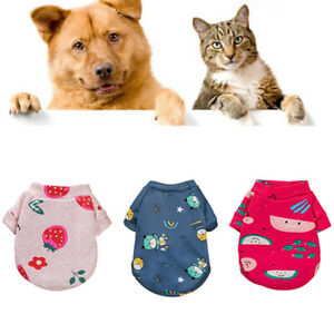 Cute Pet Clothes Small Dog Cat Fleece Hoodie Sweater Chihuahua Puppy Coat Jacket