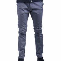 ARMANI JEANS 8N6P15 6N7SZ Mens Chino Trousers Slim Fit Casual Pants Grey