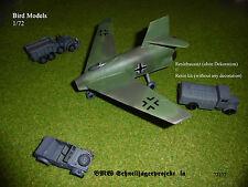Bmw rápidamente cazador proyecto IA 1/72 Bird models resinbausatz/resin Kit