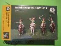 1/32 Waterloo1815 091 Napoleon Frankreich Dragoner Kavallerie French Dragoons