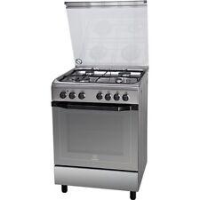 Indesit Cucina a Gas 4 Fuochi Forno Elettrico Ventilato 60x60 cm I6TMH2AF(x)/I