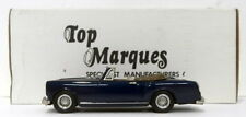 Top Marques 1/43 Scale HE8 - 1966-67 Alvis TF Convertible  - Seychelle Blue