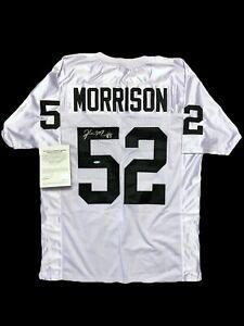 Kirk Morrison Signed Jersey Upper Deck