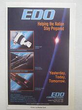 7/1991 edo pub future satellite earth sensor composite bomb rack f-15e ad