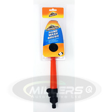 Armorall Water Fed Car Wash Cleaning Soft Brush Attach To Hose Pipe Control Tap