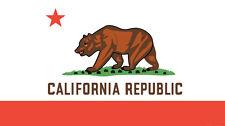 California Republic State Flag Bear Beach Towel