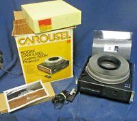 Vintage Kodak Carousel Custom 860H Slide Projector For Parts and Or Repair