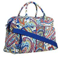 VERA BRADLEY MARINA PAISLEY WEEKENDER BAG XL BRAND NEW WITH TAGS Discontinued