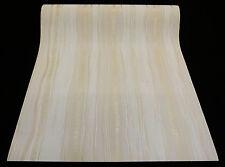"""13557-30) Design Vliestapete """"Bred & Butter"""" Streifen Tapete beige creme Glanz"""