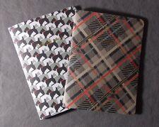 Vera Bradley Slim Journal Set Scottie Dogs notebook note pad paper NIP s26-pb12