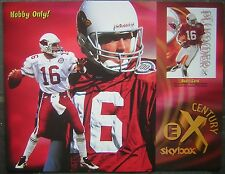 1999 EX Skybox Century Football Tri-fold Pull-Out Advertising Poster-Randy Moss