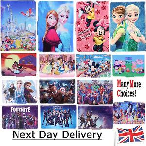 """Disney Case Tablet Cover for KIDS CHILDREN Boys & Girls Tab 7 """" 8 9.7"""" 10.1 inch"""