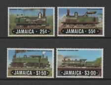 JAMAICA 1984 RAILWAY LOCOMOTIVES (1st series) *VF MNH*
