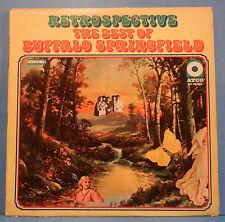 RETROSPECTIVE BEST OF BUFFALO SPRINGFIELD LP '69 ORIGINAL PLAYS GREAT! VG+/VG!!A