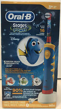 Oral B Finding Dory Kids Musical 16 Tunes Rechargable Stages Power Toothbrush