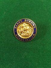 Bowls Enamel Badge Lawn Bowling Banks Bowling Association