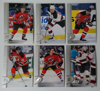 1996-97 Upper Deck UD Series 2 New Jersey Devils Team Set of 6 Hockey Cards