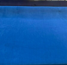 Crescent Velour Sapphire Blue Velvet IFR 20 oz Fabric by the yard