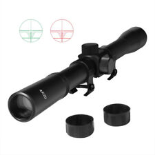4x20 Magnification Telescopic Tactics Rifle Scopes Mounts Hunting Sniper Scope