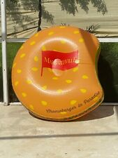 Giant 4 x 2ft Inflatable Margaritaville Hamburger Pool float Blow Up Display