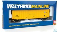 Walthers Mainline HO 'Union Pacific' Yellow 50' ACF Exterior-Post Boxcar #357006