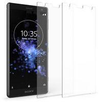 Lot de 2 Protecteurs Ecran Sony Xperia XZ2 Meilleur Verre Trempé Protection Fine