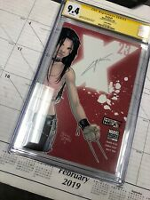 X-23 #1 (2005) CGC 9.4 SS x1 SIGNED by CRAIG KYLE! RED VARIANT X-MEN MOVIE