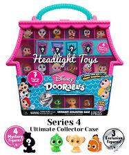 Series 4 Disney Doorables Collector Case 7 Mini Peek Figures Mystery & Exclusive