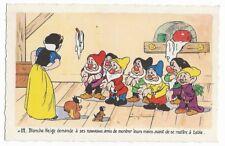 Carte Postale - WALT DISNEY - Edition Superluxe Paris  Blanche Neige  N°12