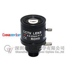 New 9-22mm Varifocal Fixed Iris Infra Red CCTV Camera Zoom Board Lens Free Ship