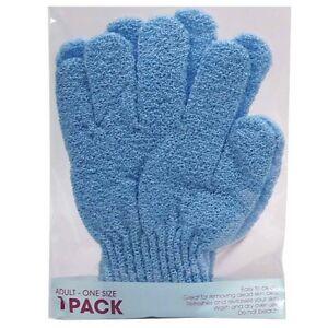1 PAIR - Exfoliating Bath Gloves Mits Health Beauty Skin Care Shower Massage Spa