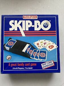 Waddingtons Skip-Bo Card Game 1989 Edition