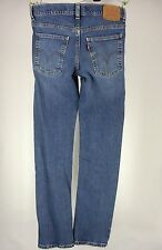 LEVI'S 510 SUPER SKINNY MEN'S 29x29 LOW RISE BLUE STRETCH JEANS EUC