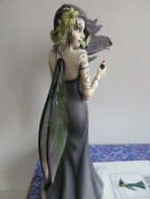 FAIRY SITE MYSTIC FAIRY FIGURINE DARK ENCHANTMENT  BY JESSICA GALBRETH BOXED