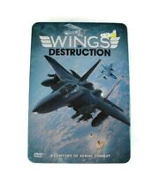Wings of Destruction [5 DVD Set] Tin Case A Century of Aerial Combat